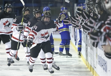 Canada back on course